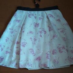 ふんわり花柄 スカート ロペピクニック