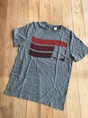 新品タグ付き オールドネイビー  半袖Tシャツ グレー メンズ M