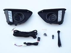 ホンダ フィット GK系 GP系 LED デイライトフォグカバー