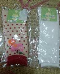 新品未使用☆子供用靴下12〜15cmハイソックス2点セット