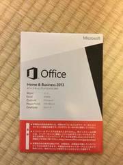 Office  Home&Business2013 新品未開封品