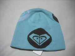 wb785 ROXY ロキシー リバーシブルニット帽 ミント