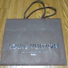 中古■LOUIS VUITTON■ルイヴィトン化粧紙袋小茶系