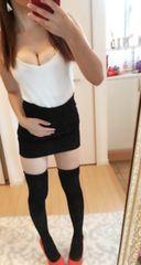 黒 ミニスカート★定価5200 一円スタート