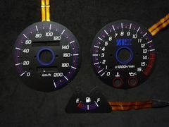 ELメーター ZRX400 ZRX400�Uブラックパネル