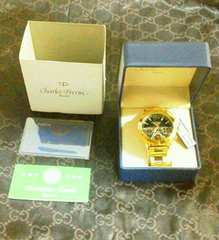 ★ 正規品 ★ Charles Perrin 高級腕時計 新品未使用 格安 送無