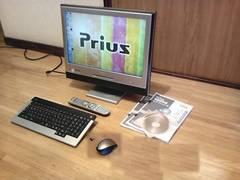 Win7 Prius AW37W5U ワイド20型 地デジ Wi-Fi Webカメラ あり