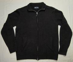 ビームス (BEAMS) ジップセーター (エルボーパッチ付き)