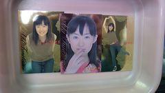 前田亜季キラカード3枚詰め合わせ福袋