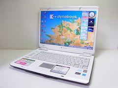 直ぐ使える ホワイトdynabook AX/55A Windows7 1円スタート