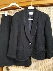 アンティーク☆美品♪黒美麗スーツ(11号)