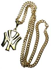 HipHop・NYネックレス 55mm ゴールド