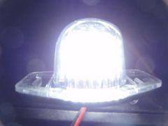 キャンセラー内蔵LEDナンバー灯オデッセイステップワゴンストリームフィットクロスロード