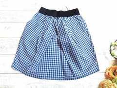 新品 Leap Lippin チェック柄 スカート ミニ 定価¥5145
