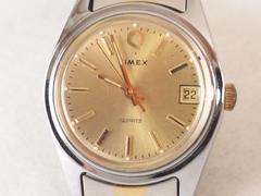6386/TIMEXタイメックス素敵なシャンパンダイヤル★レディース腕時計格安出品