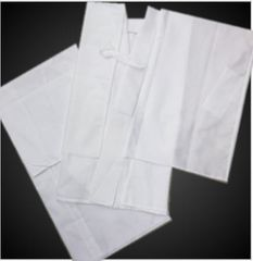 単衣・夏物着物和装下着 夏用(絽)二部式襦袢白(日本製)M・L