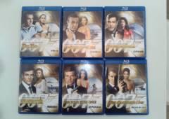 007ジェームズボンド ブルーレイ6本セット 送料込