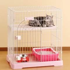 ボンビ 猫用 サークルーム コンフォート ミニHI ホワイト×ピンク サークル ケージ