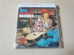 SAKURA CD「Your Favorite SAKURA」●