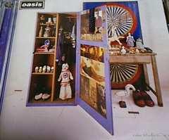国内盤2枚組ベストCD oasis(オアシス) ストップザクロックス 帯あり