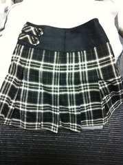 ほぼ未使用 韓国 プリーツ スカート