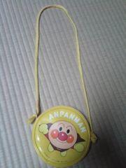 アンパンマン肩掛け(紐付き)ポーチ(黄色)