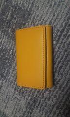 風水 金運 黄色い小財布付きキーケース 未使用品