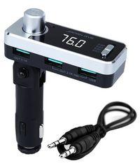 【大人気】FMトランスミッター Bluetooth 4.2 高音質