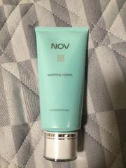 ノブ3 NOV ウォッシングクリーム洗顔料 新品 敏感肌