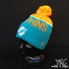 NEWERA ニューエラ ドルフィンズ ニットキャップ421ニット帽 NFL