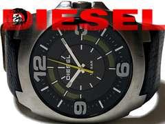 【超大型】1スタ★ディーゼル ベルト一体型 メンズ腕時計