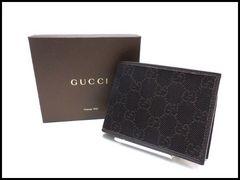 GUCCI グッチ GGデニム メンズ 二つ折り財布 143384 未使用品