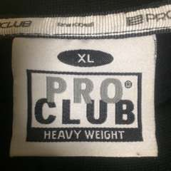 ProClub Pro Club プロクラブ スウェット トレーナー 無地 大定番 ブラック 黒
