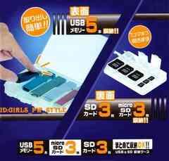 コンパクト収納 整理整頓 SD microSD USBメモリー カードケース