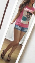 ★お気に入りTシャツ★cuteな女の子★