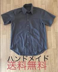 管理No.20■送料無料■新品■ハンドメイド シャツ Mサイズ
