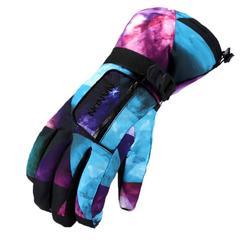 スキー スノーボード グローブ 手袋 宇宙柄