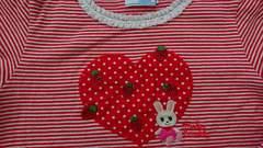 110女の子 ミキハウス長袖Tシャツ 美品