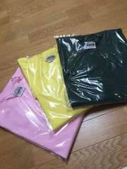 PROCLUB 無地Tシャツ3枚セットサイズ3XL黄色ピンク緑  �@