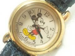 3130/SEIKOセイコーALBAアルバ稀少品ミッキーデザインレディース腕時計