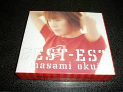 CD「奥井雅美/ベスト-エスト(BEST-EST)ライブ盤」2枚組限定 即決