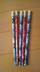 新品リロ&スティッチ鉛筆5本えんぴつ筆記用具・送込