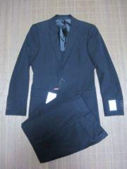 □ユナイテッドアローズ/ホワイトレーベル 細身 2B ブラック スーツ/メンズ44☆新品