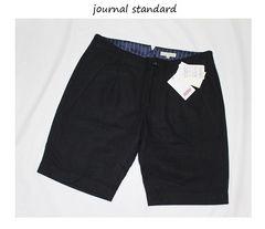 ジャーナルスタンダード*journal standard★ウールフラノ*ショートパンツ(40)/新品