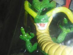 ドラゴンボールZハイクォリティキーホルダースペシャルクリア 神龍シェンロンフィギュア