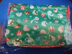TDS 東京ディズニーシー クリスマス ダッフィー スーベニアバック