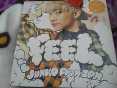 2PM〓JUNHO/完全生産限定CD/FEEL/LP盤サイズBIG PHOTO/8枚/ジュノ