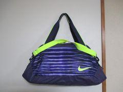 ナイキ/NIKE 防水ボストン/スポーツバッグにも 新品!  紫
