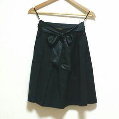 即決!! SALE!! 新品未使用 ウエストリボンスカート