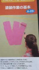 DIY、塗装作業の基本冊子